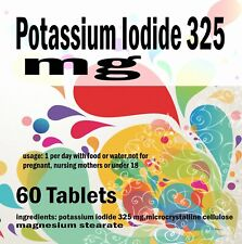 Potassium Iodide 325 mg - 60 Tablets