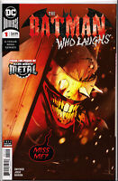 BATMAN WHO LAUGHS #1 ~ 2ND PRINT RED VARIANT ~ (JOCK COVER) ~ DC Comics
