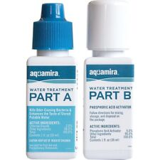 Aquamira Chlorine Dioxide Purification Water Treatment Emergency Survival 67202