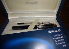 Pelikan Ductus Rollerball Pen Silver + Black R3100