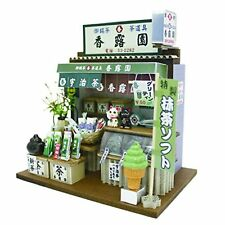 Japanese Green Tea Shop - Billy Miniature Dollhouse Kit From Japan