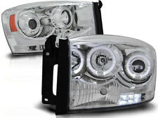 DODGE RAM 1500 2500 3500 2006 2007 2008 FARI ANTERIORI LPDO05 ANGEL EYES CROMO