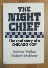 signed CHICAGO POLICE COP OLD book vallee ILLINOIS