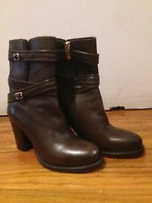 Ankle Boots Designer, BRUNO PREMI, Color: Dark Brown, Size: 5 (US), Never worn