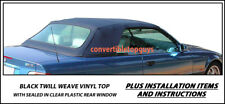 """BMW """"3 SERIES"""" CONVERTIBLE TOP DO-IT-YOURSELF PACKAGE  1994-1999"""