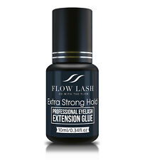 Professional Eyelash Extension Glue - Extra Strong Hold 10ml by Flow Lash