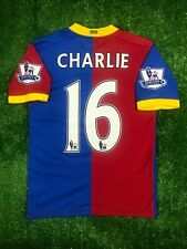 CRYSTAL PALACE 2013/2014 CHARLIE HOME FOOTBALL SOCCER SHIRT JERSEY AVEC BOYS