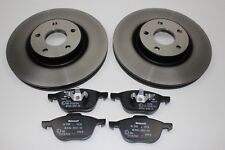 DISCOS DE FRENO ORIGINALES 300mm + FORROS DELANTERO FORD FOCUS 1520297+ 1809256