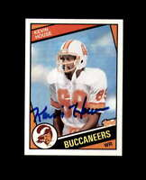 Kevin House Hand Signed 1984 Topps Tampa Bay Buccaneers Autograph