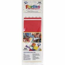 TYVEK WRISTBAND RED COLOUR PACK OF 100 EVENT PARTY ENRTY IDENTIFICATION
