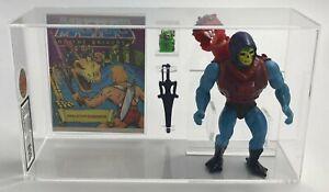 MOTU Vintage Dragon Blaster Skeletor w Comic Series 4 No COO 1985 UKG 85%