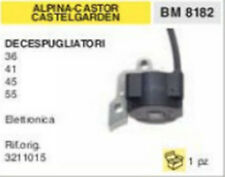 3211015 BOBINA DECESPUGLIATORE ALPINA CASTOR CASTEL GARDEN 36 41 45 55 ELETTR