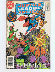 JUSTICE LEAGUE OF AMERICA # 223 SUPERMAN 1984 VERY GOOD MINUS