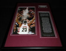 Lebron James Framed 12x18 Photo Display Cavaliers