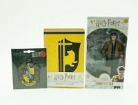 HP Official Harry Potter Hufflepuff Notebook Patch and McFarlane Figure