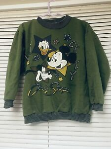 Vintage Mickey Mouse Xs Jumper 1990