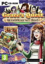Grace's Quest: To Catch An Art Thief (PC DVD) NEW SEALED