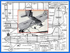 """Model Airplane Plans (UC): SPOOKY 26"""" Wingspan Stunter for .065-.099 Engine"""