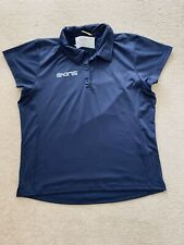 Skins Rise Up - Ladies Navy Stock Polo Shirt  - BNWT - Size 12