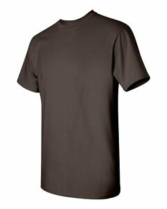 Gildan Men's Heavy Cotton T-Shirt (Pack of 5) Bulk Lot Solid Blank 5000 NEW