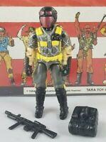 Original 1989 GI JOE PYTHON VIPER V1 ARAH complete UNBROKEN figure Cobra