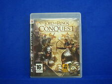 ps3 LORD Of The RINGS Conquest Action Strategy Game MINT DISC Playstation PAL