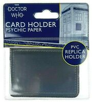 Doctor Who PSYCHIC PAPER Replica Card Holder Wallet Travel Pass