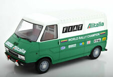 FIAT 242 ASSISTENZA LANCIA ALITALIA CORSE RALLYE 1977 LAUDORACING LM107A2 1/18