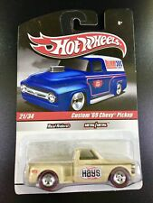 HOT WHEELS DELIVERY CUSTOM '69 CHEVY PICKUP 1/64 DIECAST IN GREAT BLISTER PACK