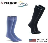 Fox River Telluride #8180 Value Ski Socks with Wool Lightweight Over the Calf