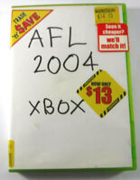 AFL Live 2004 Xbox Original MINT DISC