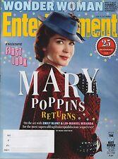 Entertainment Weekly Magazine June 16, 2017 - Wonder Woman, Mary Poppins