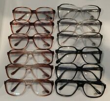 Vintage 12 Pc. Lot Elite Harvey Asst Colors 56/19 Men's Eyeglass Frame Nos #S24