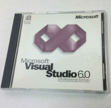 Microsoft Visual Studio 6.0 Professional Edition 2 REPLACEMENT DISCS ONLY 1998