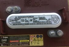 BATTERY TROJAN T-605 6V 210 Ah  DEEP CYCLE. @ 20 Hr. rate MASTER VENT  EACH
