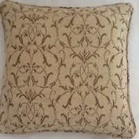 A 16 Inch Cushion Cover In Laura Ashley Allegra Bamboo Fabric