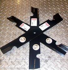 """3 Toro ZMaster Mower Blades 52"""" deck. Mulch / Gator.  105-7781  94-053"""