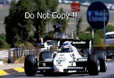 Keke Rosberg Williams FW09 South African Grand Prix 1983 Photograph