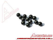 ANSWER-RC 3/32 (2.4 mm) Céramique Différentielle boules (12) Balle Diff ansdb 0332