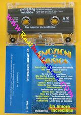 MC EMOZIONI IN MUSICA Un amore incredibile 883 RENATO ZERO MINA no cd lp dvd vhs