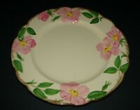Franciscan Pottery Desert Rose Earthenware Dinner Plate USA Backstamp 10 5/8""