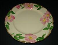 "Franciscan Pottery Desert Rose Earthenware Dinner Plate USA Backstamp 10 5/8"""