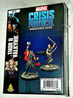 Marvel Comics Crisis Protocol Miniatures Game Thor Valkyrie CP11 Sealed 2019 MIB