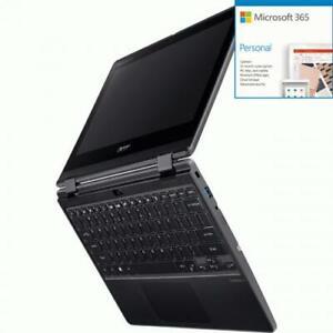 Acer TravelMate Spin B3 B311R-31 TMB311R-31-C6M4 11.6  Touch + Microsoft 365 Bun