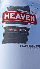 Death Cab for Cutie Mini-Concert Poster Reprint 2005 Sacramento Cal  14x10