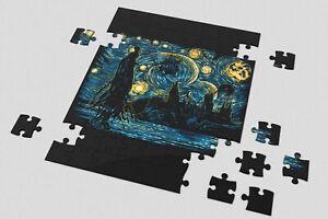 Heart 201/500/1000 Pieces Jigsaw Puzzles Starry Dementors Harry Potter Starry