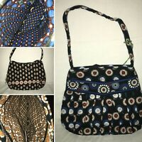 VERA BRADLEY 'Hannah' - Multiple Vintage Patterns - New With Tags - 9 x 8