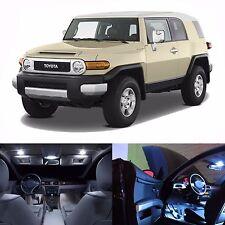 LED White Lights Interior Package Kit For Toyota FJ Cruiser 2007-2013 (12 Bulbs)