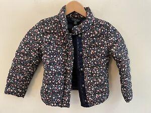 Polo Ralph Lauren Girls Floral Down Jacket 6x