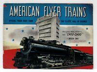 Original 1941 American Flyer Train Catalog VG Cond w/ Price Insert